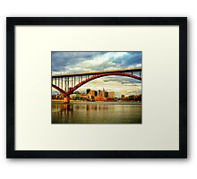 High Bridge, St. Paul Minnesota Framed Print