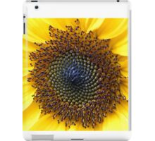 Sunflower Centre in Peebles Garden iPad Case/Skin
