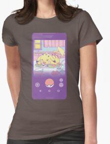 Pokemon-Go (Pikachu roast) Womens Fitted T-Shirt
