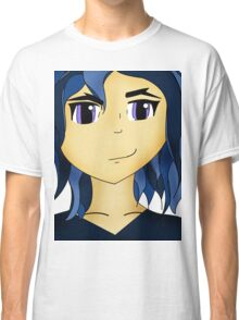 Kawaii Anime style girl in blue - Team Mystic Classic T-Shirt