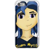 Kawaii Anime style girl in blue - Team Mystic iPhone Case/Skin