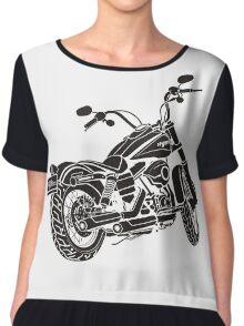 motorcycle Harley Davidson Chiffon Top