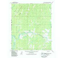 USGS TOPO Map Alaska AK Kantishna River B-6 356424 1952 63360 Photographic Print