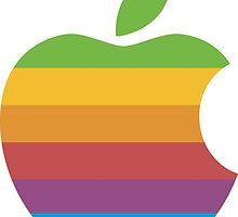 Classic Apple Computer Logo by p13t3rm