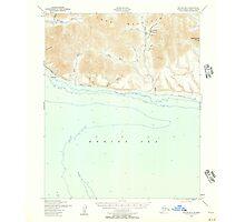 USGS TOPO Map Alaska AK Teller B-5 359905 1950 63360 Photographic Print