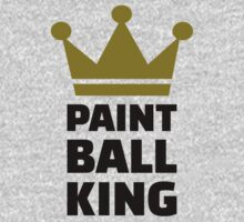 Paintball king crown Kids Clothes