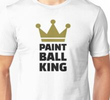 Paintball king crown Unisex T-Shirt