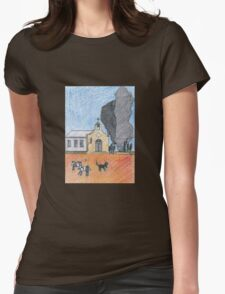 Country Life on a Dwarf Planet Womens Fitted T-Shirt