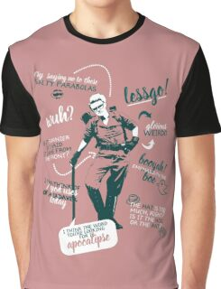 holtzmann quotes Graphic T-Shirt