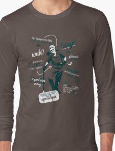 holtzmann quotes Long Sleeve T-Shirt