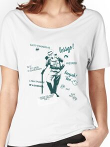 holtzmann quotes Women's Relaxed Fit T-Shirt