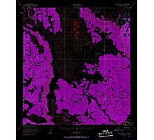 USGS TOPO Map Alaska AK Holy Cross C-4 356048 1952 63360 Inverted Photographic Print