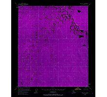 USGS TOPO Map Alaska AK Ruby B-3 358587 1953 63360 Inverted Photographic Print