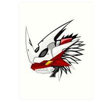 digimon imperialdramon dragon mode Art Print
