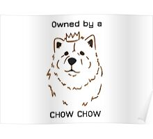 Owned by a Chow Chow Poster