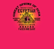 egyptian sphinx Womens Fitted T-Shirt