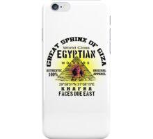 egyptian sphinx iPhone Case/Skin