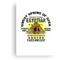 egyptian sphinx Canvas Print