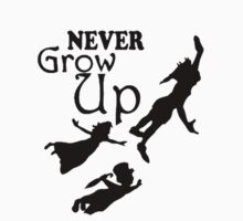 Never Grow up One Piece - Short Sleeve