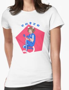 Catze Womens Fitted T-Shirt