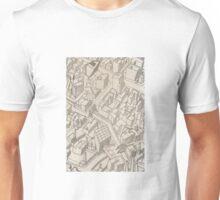 Gritty Cityscape Unisex T-Shirt