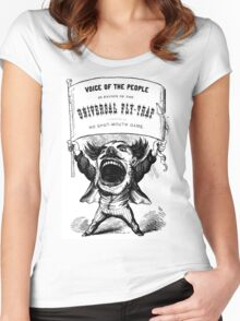 Voice of the People  Women's Fitted Scoop T-Shirt