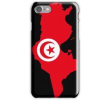 Tunisia Flag Map iPhone Case/Skin