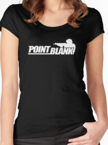point blank Women's Fitted Scoop T-Shirt