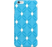 Abstract Blue Emeralds iPhone Case/Skin