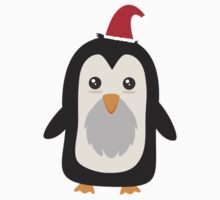 Christmas Penguin   One Piece - Long Sleeve