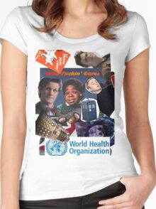 Doctor Who Times Infinity Women's Fitted Scoop T-Shirt