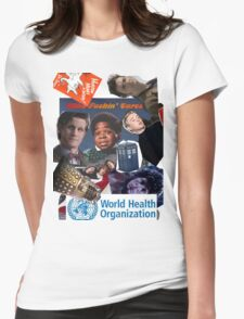 Doctor Who Times Infinity Womens Fitted T-Shirt