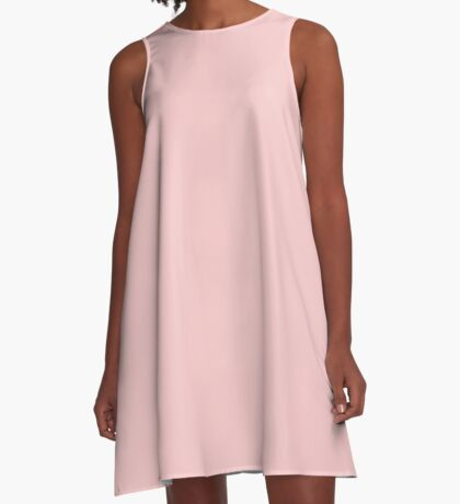 Rose Diamond (Pink) Color A-Line Dress