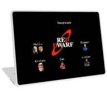 Red Dwarf Characters Laptop Skin