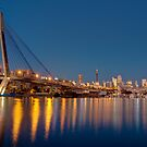 View across Blackwattle Bay, Sydney by Erik Schlogl