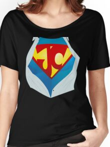 Jesus Christ The Real Superhero Women's Relaxed Fit T-Shirt