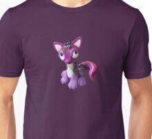 Purple Toy Fox Design Unisex T-Shirt
