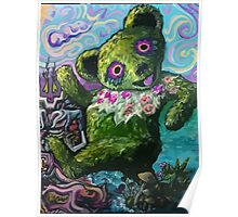 Grateful Dead Bear - Vincent Van Gogh Poster
