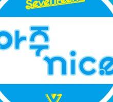 SEVENTEEN 아주 NICE - CHIBI  Sticker
