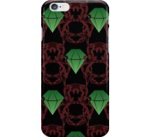 Emeralds & Demons [BLACK] iPhone Case/Skin