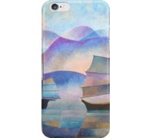 Shades of Tranquility - Cubist Junks iPhone Case/Skin