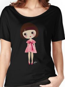 Girl in pink Women's Relaxed Fit T-Shirt