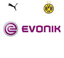 INTERNATIONAL CHAMPIONS CUP - Borussia Dortmund (White) Photographic Print
