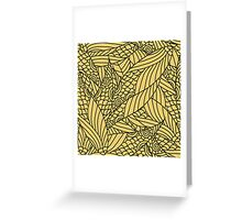 Seamless Abstract Pattern Greeting Card