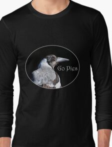 Magpie T's & Hoodies 3 Long Sleeve T-Shirt