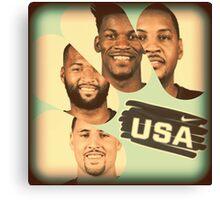 Team USA Canvas Print