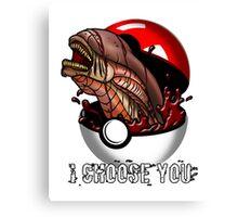Pokemon Xenomorph Canvas Print
