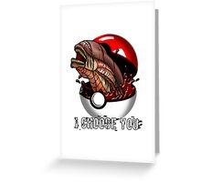 Pokemon Xenomorph Greeting Card
