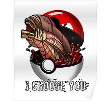 Pokemon Xenomorph Poster
