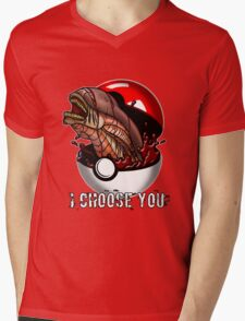 Pokemon Xenomorph Mens V-Neck T-Shirt